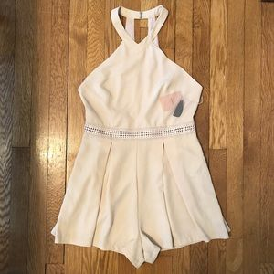 NWT Forever 21 nude romper